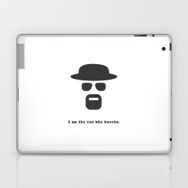 I am the one who knocks. Laptop & iPad Skin