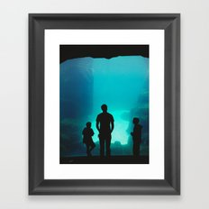 At the Zoo Framed Art Print