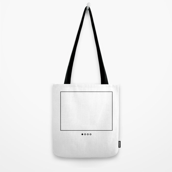 First (black) Tote Bag