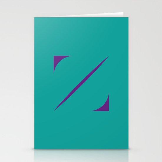 Z like Z Stationery Cards