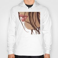 mouth Hoodies featuring Mouth by Derek Donovan