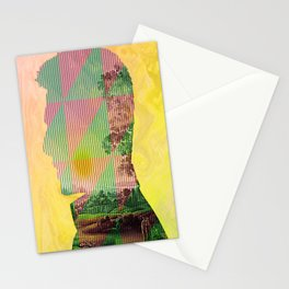 Thinking in Nothing! Stationery Cards