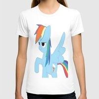 pony T-shirts featuring pony by Dore