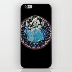 Paper fairytale window iPhone & iPod Skin
