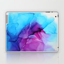 Aqua Pop - Alcohol Ink Painting Laptop & iPad Skin