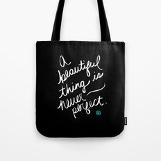 A Beautiful Thing (inverted) Tote Bag