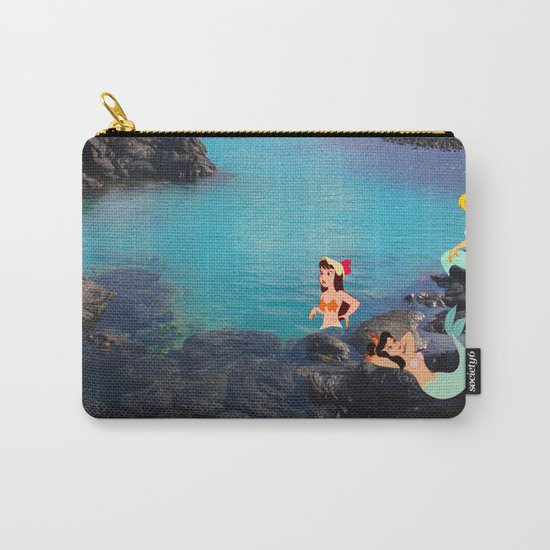 Peter Pan's Mermaid Lagoon Carry-All Pouch