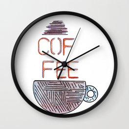 Coffee 2 Wall Clock
