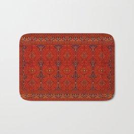 N194 - Red Berber Atlas Oriental Traditional Moroccan Style Bath Mat
