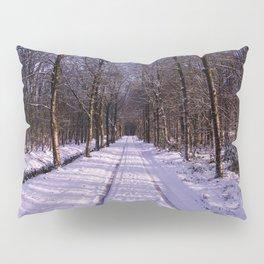 Winter Path Pillow Sham