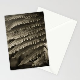 Copper-ized Ferns Fight for Sunshine Stationery Cards