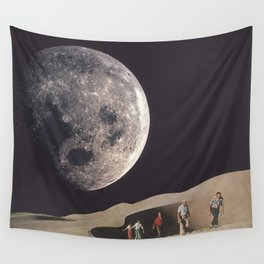 Space Dunes Wall Tapestry