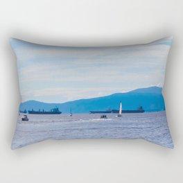 English Bay Harbour May 31 2018 Rectangular Pillow