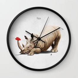 Horny Wall Clock