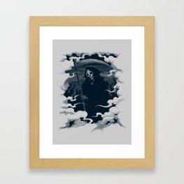 Mort Framed Art Print