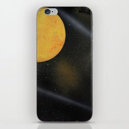 Looking Up - Spray Paint Art iPhone Skin