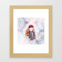 BTS Jungkook, King Jungkook, Kings of KPOP, Love Yourself, Boy With Luv Framed Art Print