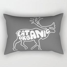 Eat Organic Rectangular Pillow
