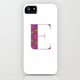 E - Amarilis iPhone Case