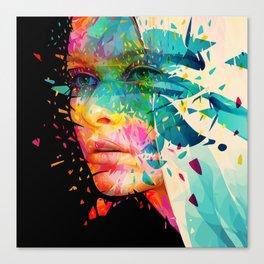 Paintflowers Canvas Print