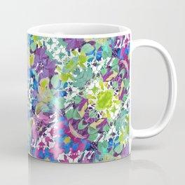 Colorful Modern Floral Print Coffee Mug