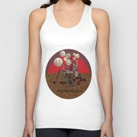 metropolis Tank Tops featuring Metropolis by beataS
