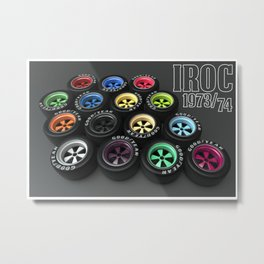 IROC Fuchs Metal Print