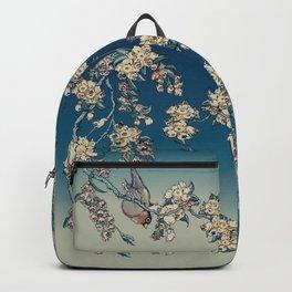 Bullfinch and French Bulldog Cherry Backpack