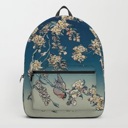 Bullfinch and French Bulldog Cherry Backpack
