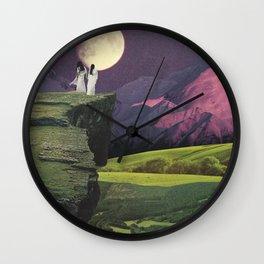 Sacred Moon Wall Clock
