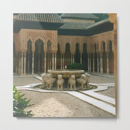 Alhambra Metal Print