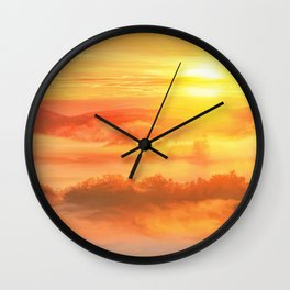 Sunset before Wall Clock