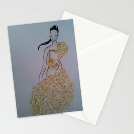 in yellow Stationery Cards