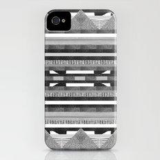 DG Aztec No.2 Monotone Slim Case iPhone (4, 4s)