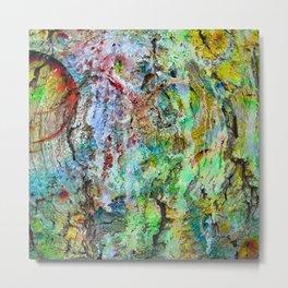 painted wall Metal Print