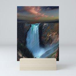 Yosemite Falls Landscape by Jeanpaul Ferro Mini Art Print