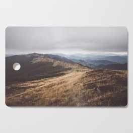 Over the hills and far away Cutting Board