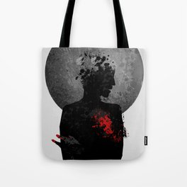 The Heart Hurts. Tote Bag
