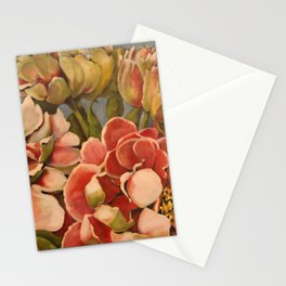 Peonies in Pink Stationery Cards