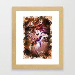 League of Legends STAR GUARDIAN JINX Framed Art Print