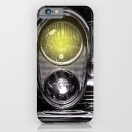 Front lights iPhone Case