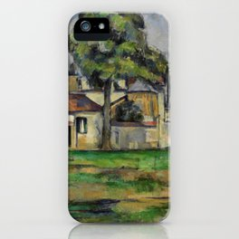Paul Cezanne - Banks of the Marne  1888 iPhone Case