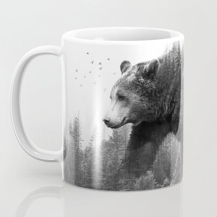 Walking trough the forest Coffee Mug