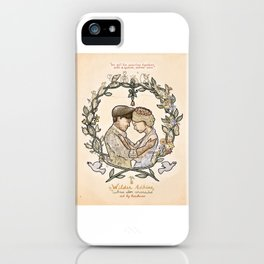 "Illustration from the video of the song by Wilder Adkins, ""When I'm Married"" iPhone Case"