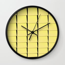 The Devil is in the detail: Post-it 2 dark Wall Clock