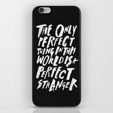 THE PERFECT THING iPhone & iPod Skin