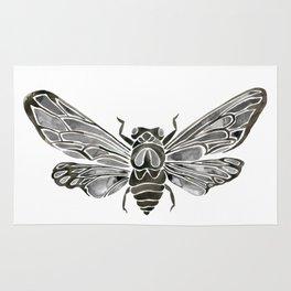 Summer Cicada – Black Palette Rug