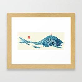 Return The Land Framed Art Print
