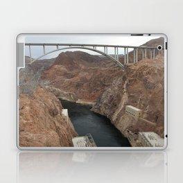 Lake Mead Spillway And Memorial Bridge Laptop & iPad Skin
