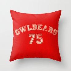 Go Owlbears! Throw Pillow
